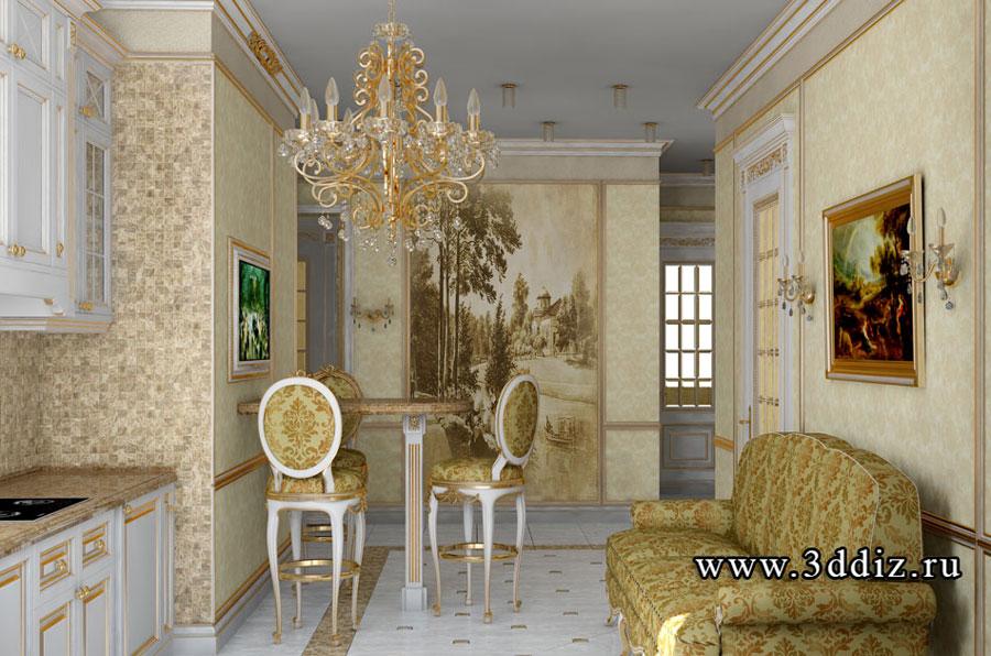 Классический стиль доме