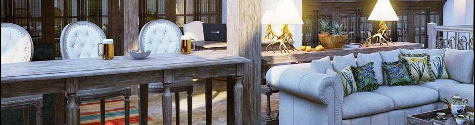 Дизайн дома в стиле шале