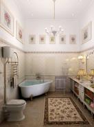 Дизайнер интерьера Людмила Майорова -- Дизайн интерьера ванной комнаты