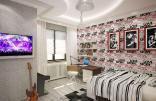 Дизайнер интерьера Людмила Майорова -- Дизайн проект трехкомнатной квартиры
