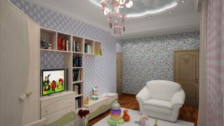 Дизайнер интерьера Людмила Майорова -- Детской комнаты дизайн