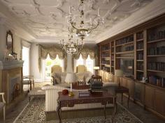 Дизайнер интерьера Людмила Майорова -- Классический стиль гостиной фото