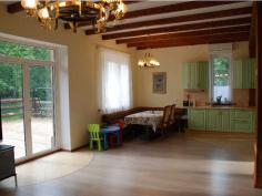 Дизайнер интерьера Людмила Майорова -- дизайн и ремонт загородного дома (блок хаус)