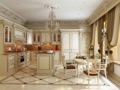 Интерьер кухни в классическом стиле - Дизайн в классическом стиле