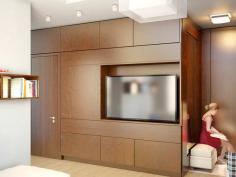 Дизайнер интерьера Людмила Майорова -- Дизайн гостиной в малогабаритной квартире