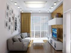Дизайнер интерьера Людмила Майорова -- Дизайн двухкомнатной квартиры