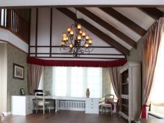 Дизайнер интерьера Людмила Майорова -- ремонт и дизайн комната отдыха в загородном доме