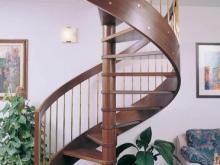 Дизайнер интерьера Людмила Майорова -- Современная лестница для современного дома