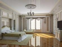Дизайнер интерьера Людмила Майорова -- Дизайн спальни в классическом стиле