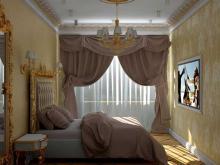 Дизайнер интерьера Людмила Майорова -- Дизайн спальни в 3D