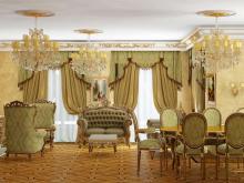 Дизайнер интерьера Людмила Майорова -- Классический стиль в загородном доме
