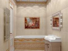 Дизайнер интерьера Людмила Майорова -- Дизайн ванной комнаты и ее функциональность